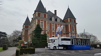 Mobile Exhibition Unit - Belgium