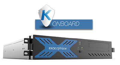 exacqVision (NVRs) with Kantech OnBoard