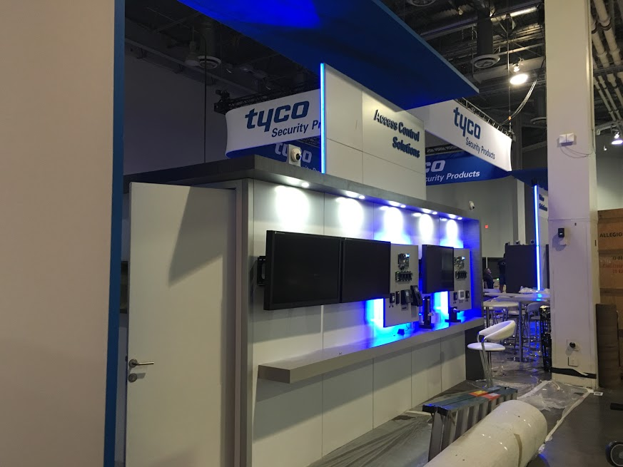 ISC West 2016 set-up