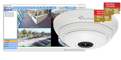 VMS software directly on IP camera