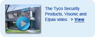 Tyco Security Products, Visonic and Elpas video